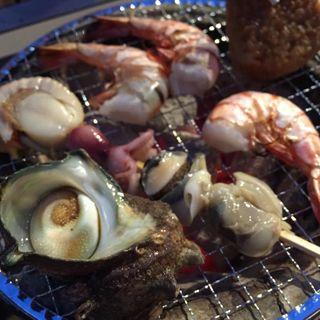 BBQ(炭火焼)(海のバーベキュー 焼屋(やきや))