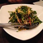 クレソンと香菜の四川風サラダ