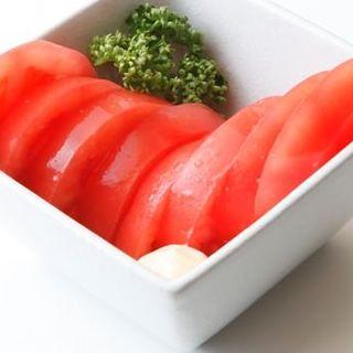 ひんやり冷やしトマト(博多もつ鍋 はらへった HANARE )