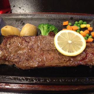 Aステーキ(肉のふきあげ )