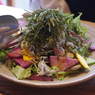 鎌倉野菜のサラダ(和彩 八倉)