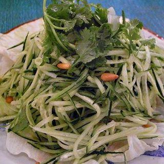 冷やし坦々麺(上海チキン 大塚 小閣樓 )