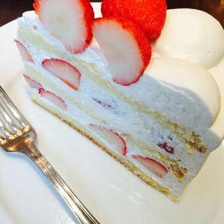 長野県産 夏いちごのケーキ(ハーブス ルミネ有楽町店 (HARBS))
