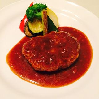 ハンバーグランチ(Seasonal Dining RIB)