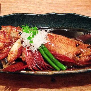 きんき煮付(北海道料理 札幌 銀鱗)