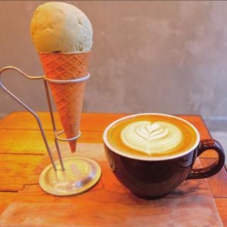 アイスクリーム(マイティ ステップス コーヒー ストップ (Mighty steps coffee stop))