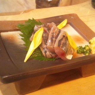 アジの刺身(美酒美燗 煮りん 船橋店 )