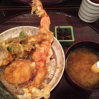 大えび天丼(天ぷら つな八 渋谷西武店 )