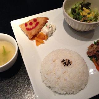 豚の生姜焼きランチ(CAFE COCODOCO)