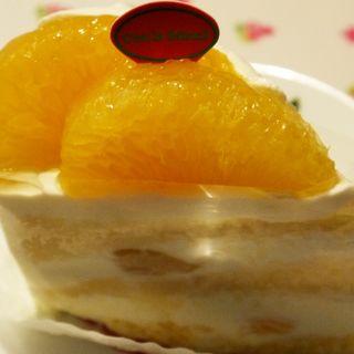 ジューシーオレンジのヨーグルトショートケーキ(セ・ラ・セゾン)