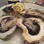 産地別岩牡蠣(時価)