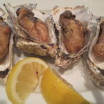 牡蠣のバターソテー(4ピース)