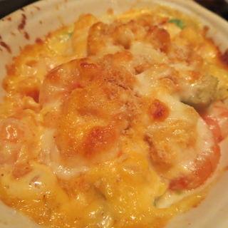 エビとアボカドのマヨチーズ焼(シュリンプ&オイスターバー 横浜モアーズ店 )