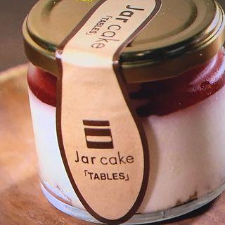ジャーケーキ(ストロベリーサワーチーズケーキ)(タブレス コーヒーベーカリー&ダイナー )