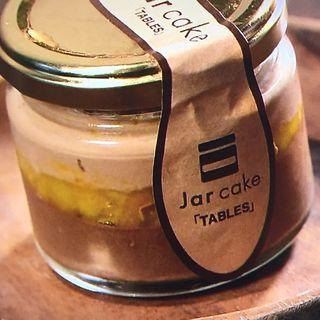 ジャーケーキ(ダブルチョコレートマンダリン)(タブレス コーヒーベーカリー&ダイナー )