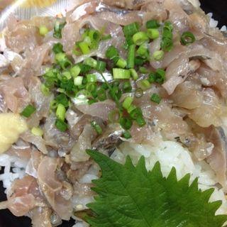 あじのたたき丼(魚の北辰 東武栃木店)