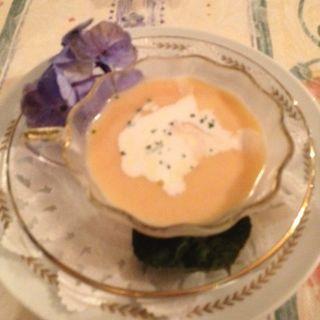 にんじんの冷製スープ(ぐらばあ亭 (グラバアテイ))