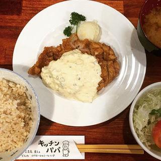 チキン南蛮定食(キッチンパパ )