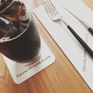アイスコーヒー(デイビット・マイヤーズ カフェ (DAVID MYERS CAFE))