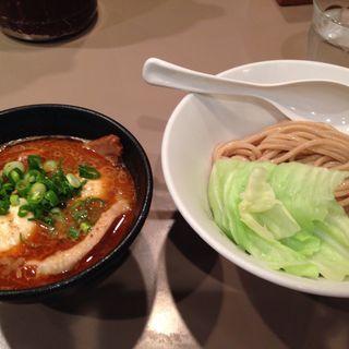 海老つけ麺全部入り(五ノ神製作所 )
