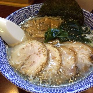 塩ラーメン+チャーシュー(だいろく )