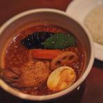 チキンと野菜のスープカレー(シャンティ 原宿店 (SHANTi))