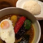 角煮のスープカリー