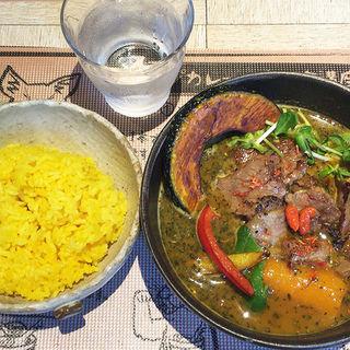 牛肉の西京焼スープカレー(薬膳スープカレー・シャナイア (Shania))