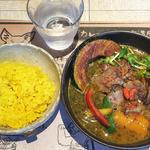牛肉の西京焼スープカレー