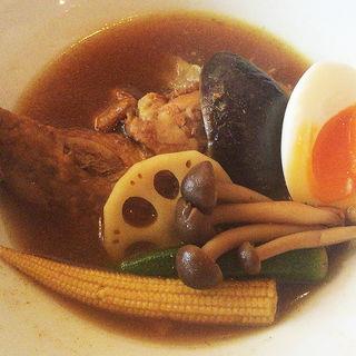 スパイスの効いた真夜中のスープカレー(恵比寿のパンダ )