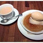 紅茶のクレームブリュレ ドリンクセット(Skew(スキュー) 有楽町)