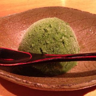 抹茶のシャーベット(やす江 )