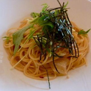 蒸し鶏と白菜の和風パスタ(グレイスガーデンプラス)