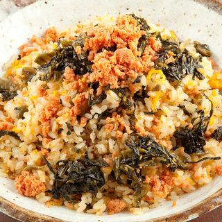 鮭と高菜のチャーハン(えちご )