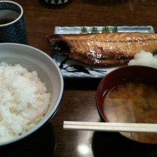さば塩焼き御飯(入金 (いりきん))