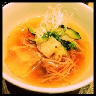 冷麺(焼肉の名門 天壇 銀座店)