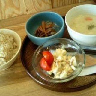 玄米ご飯セット(HAPPYCAT CAFE (ハッピー キャット カフェ))