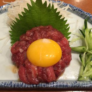 桜ユッケ(焼肉 山陽 下赤塚店 )