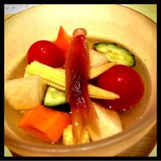 野菜ピクルス(割烹バル 八寸)