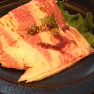 薄切りカルビ(創作焼肉 神戸 牛乃匠 (ギュウノタクミ))