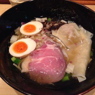 特製塩煮干しそば(饗 くろ喜 (もてなし くろき/饗 くろ㐂))