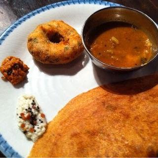 オニオンチーズクレープ(ダバインディア (Dhaba India))