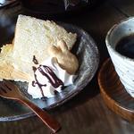ケーキセット/シフォン+昭和町ブレンド