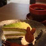 ケーキセット/抹茶トルテ+コーヒー