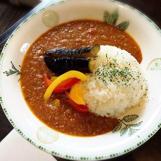 夏野菜カレー(シーサイドカフェ(リビエラ逗子マリーナ内))