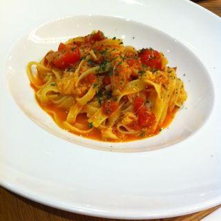 ずわい蟹のトマトクリーム(ビストロカフェ レディース&ジェントルメン (BISTRO CAFE LADIES & GENTLEMEN))