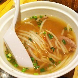 牛肉のフォー(ベトナム フロッグ 汐留店 (VIETNAM FROG))