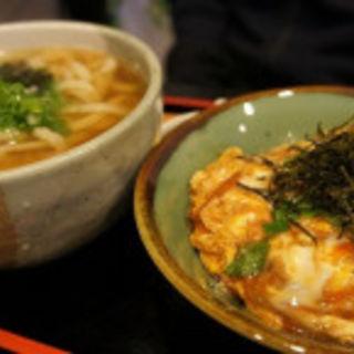 玉子丼定食(天つる )