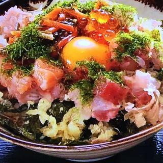 魚屋丼(並)(海鮮や 十兵衛 )