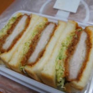 カツサンド (小山菓子店 )